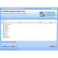 PC Brother Registry Cleaner Free screenshot
